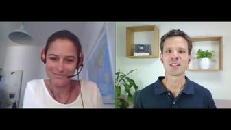Elisabeth Tomasi im Interview mit Christian Clemens