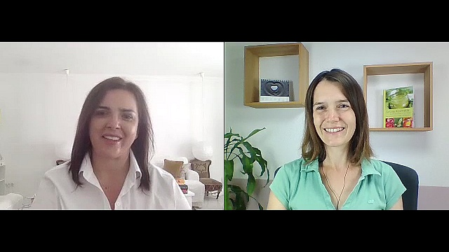 Gabriela Nedoma im Interview mit Nicole Kikillus