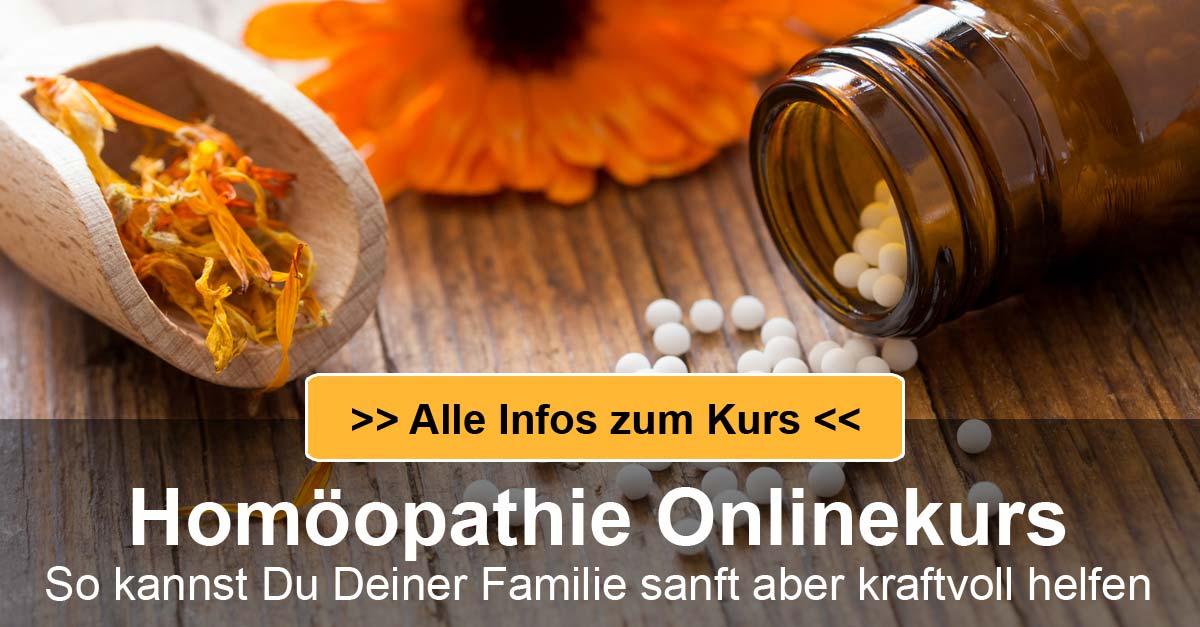 Mehr Infos zum Homöopathie Selbsthilfekurs