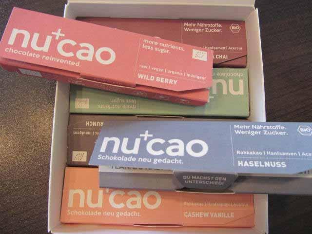 Gesunde Süßigkeiten für Kinder: Nucao-Schokoriegel