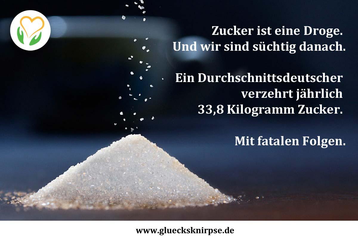 Zucker ist eine Droge